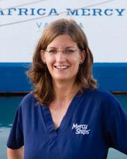 Stefanie Neeb, Mercy Ships Deutschland e.V.